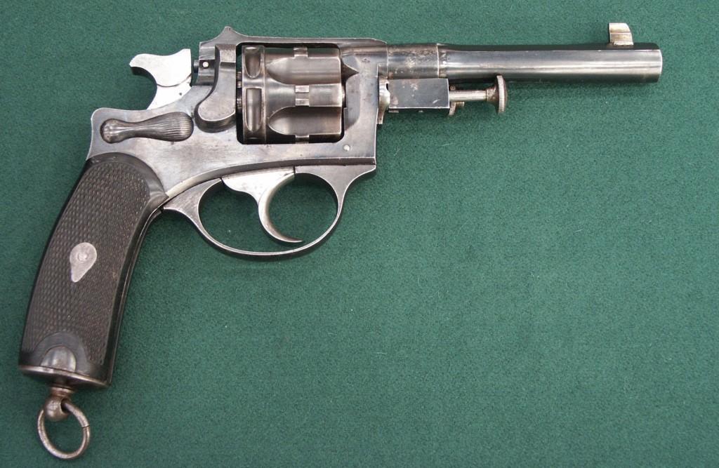 Revolver 1889/90 de fabrication civile Liègeoise