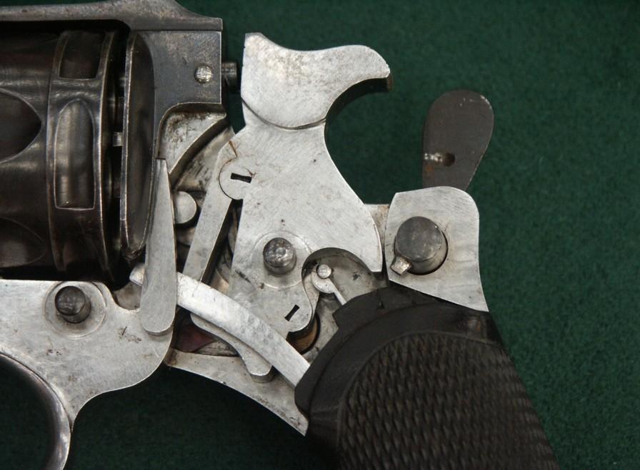 Revolver 1889/90 de fabrication civile Liègeoise: mécanisme