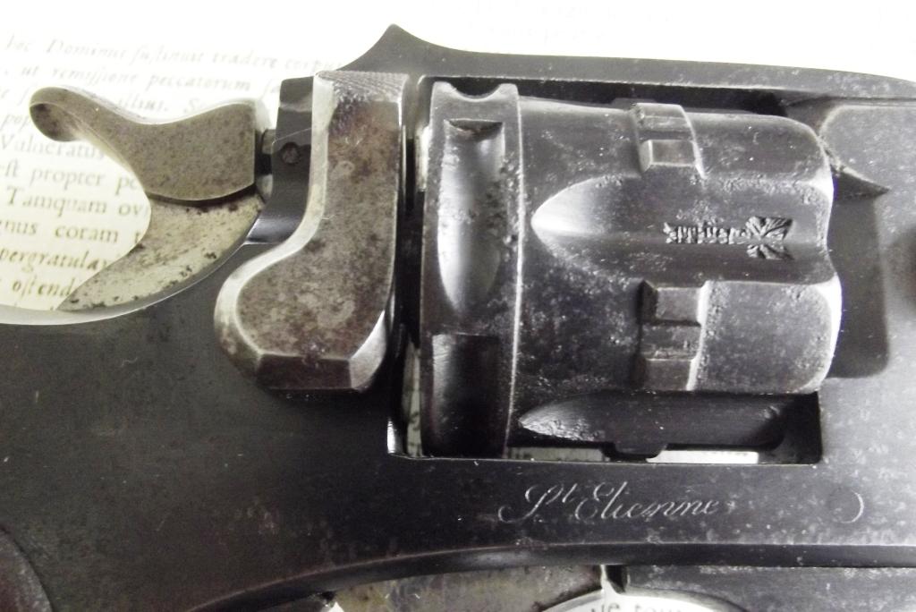 Marquages revolver 1887 1889/90 civil de Saint Etienne