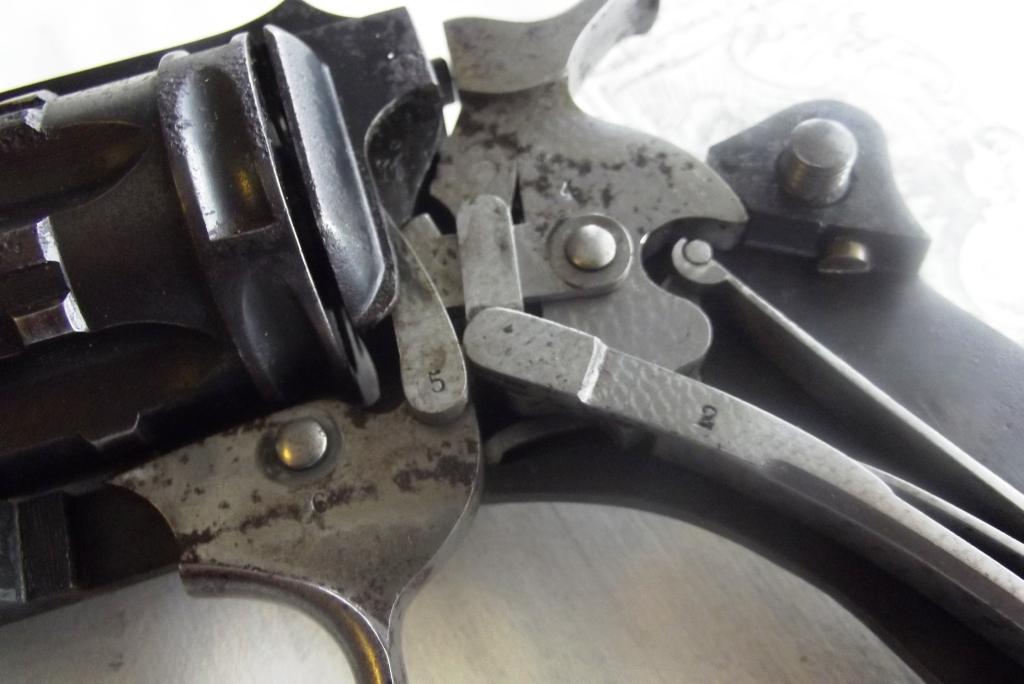 Détail du mécanisme revolver 1889/90