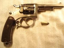 revolver d'essai modèle 1887