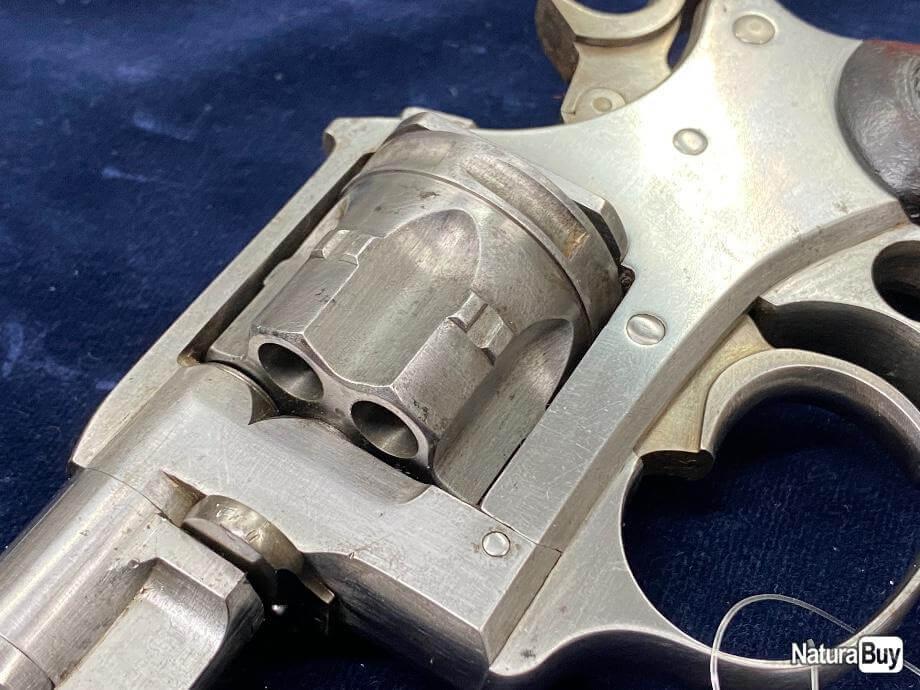 Revolver modèle 1887 militaire carcasse gauche
