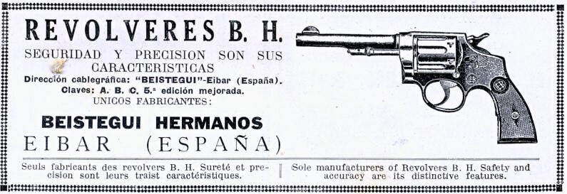 Beistegui Hermanos S.A. publicité