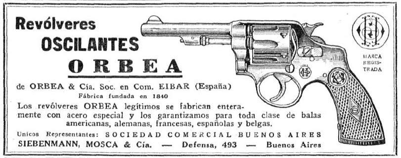 Publicité Hermanos Orbea