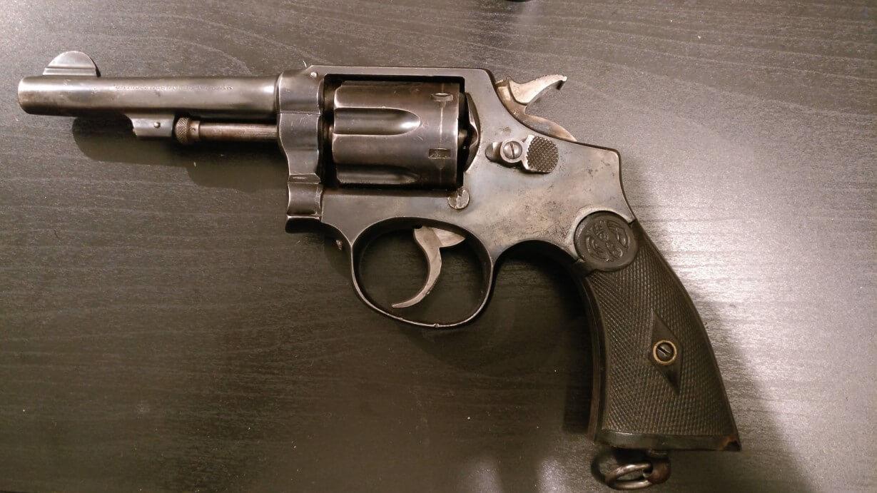 Revolver 8mm Hermanos Orbea Espagnol