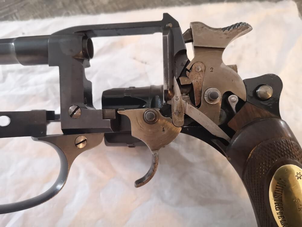 Revolver 1892 MAS Offert par le Ministère de la Guerre: mécanisme