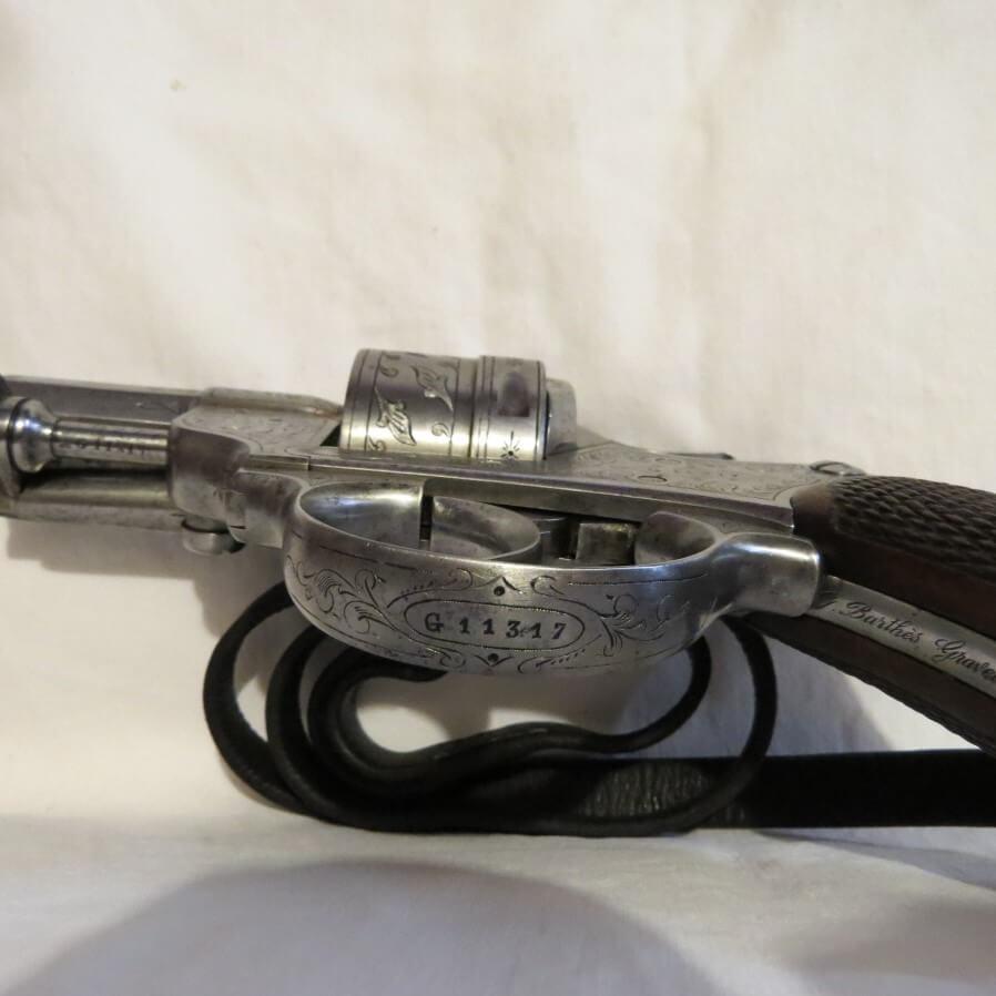 Revolver modèle 1873 gravé par G. Barthès