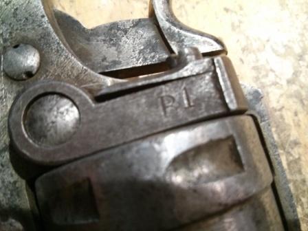 Revolver 1873 F 3 avec avec marquage de réforme R1