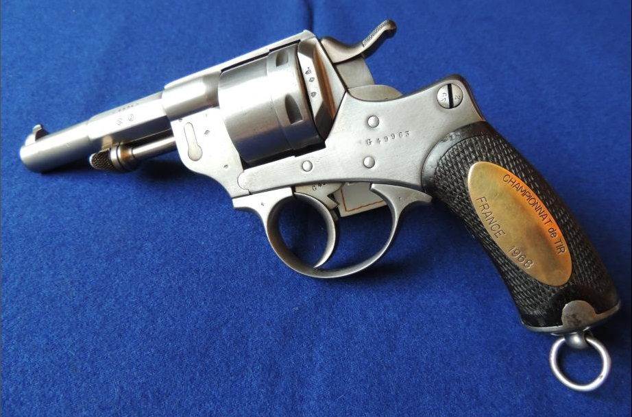 Revolver Mle 1873 prix de tir