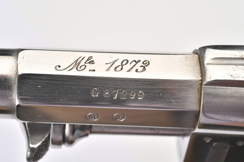 Marquage Mle 1873 sur le canon G 87299 de 1879