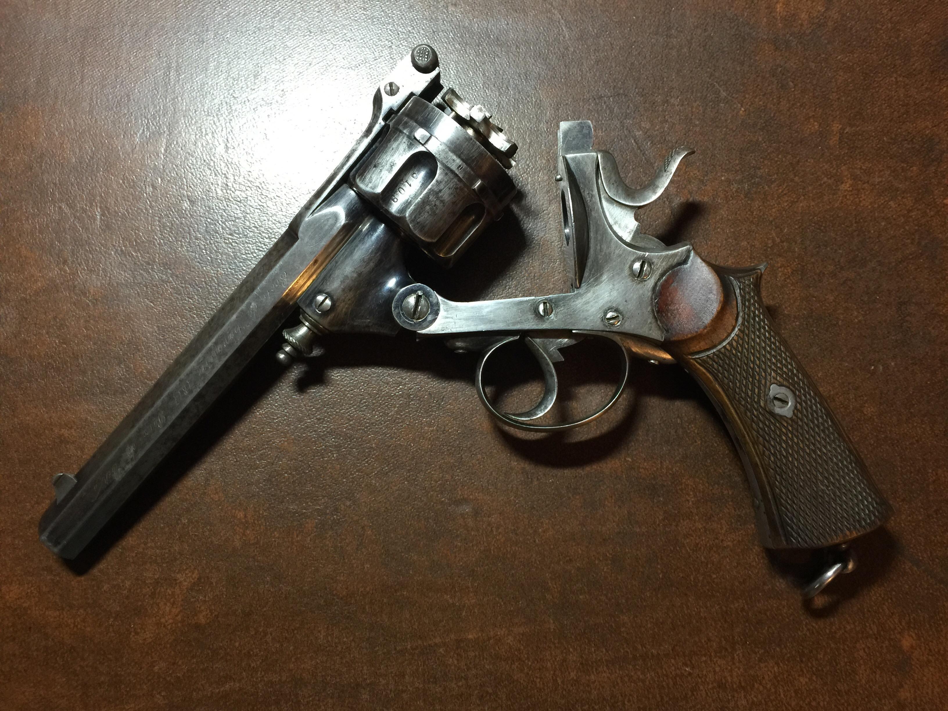 Revolver Warnant à brisure