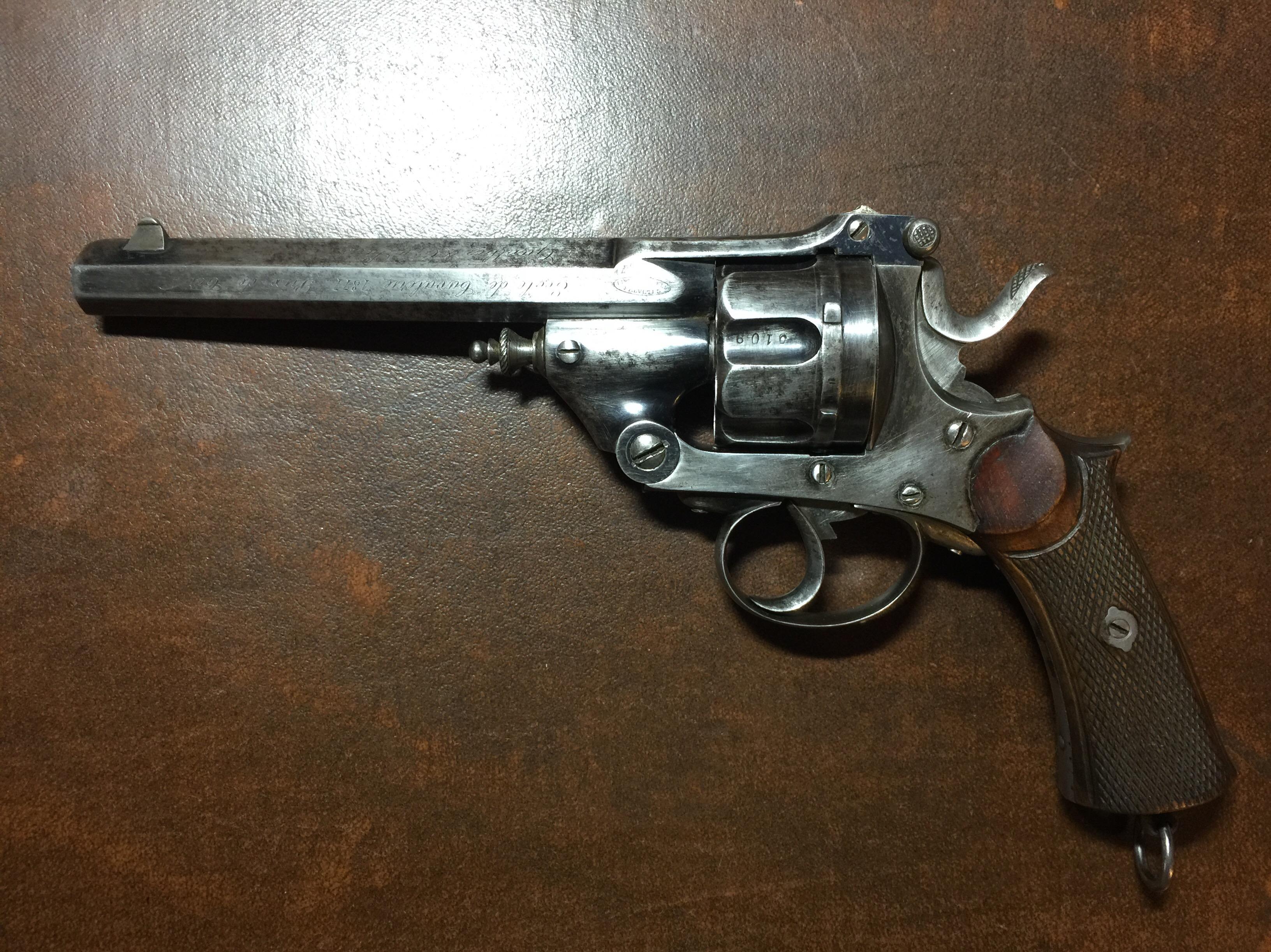 revolver warnant en 11 mm 73