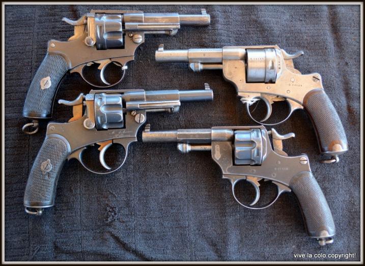 Revolvers modèles 1873, 1874 et modèle commercial