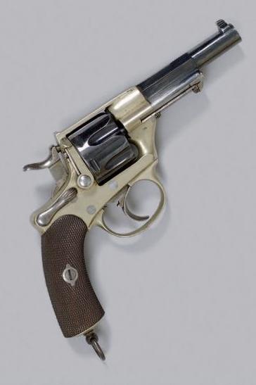 revolver 1873 d'essai en maillechort