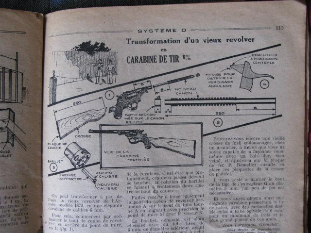 Transformer un vieux revolver 1873 en carabine de tir 6mm