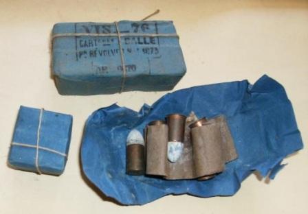 revolver 1873 munitions: paquets de cartouches 11mm73