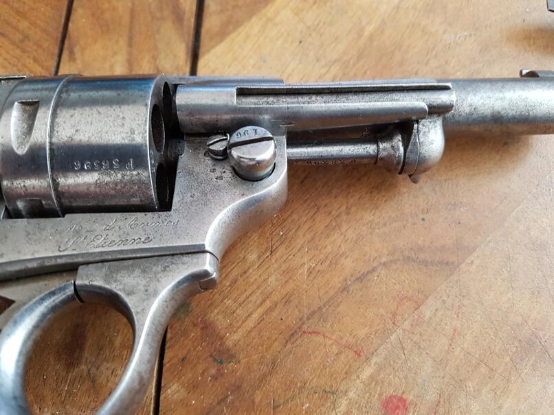 démontage revolver modèle 1873