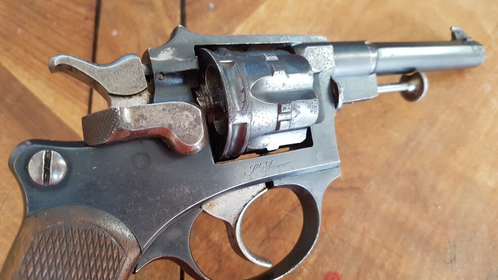 démontage Revolver modèle 1887