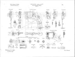 démontage du revolver modèle 1873