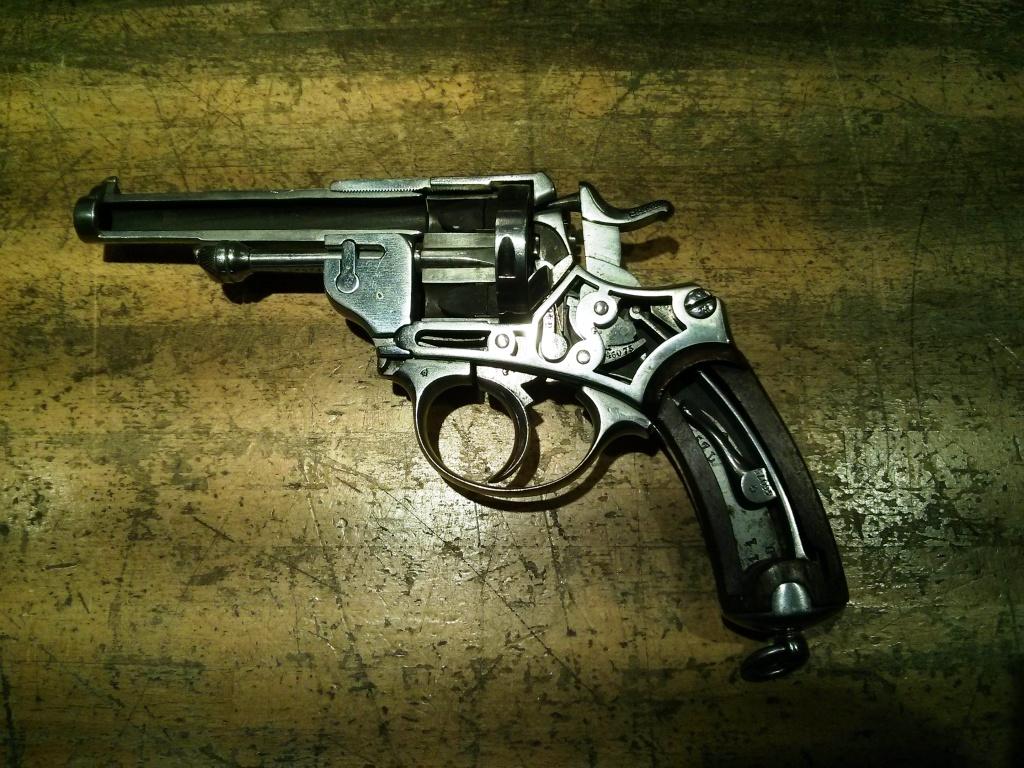 Revolver 1873 en coupe didactique