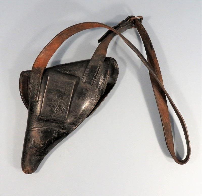 étui précoce pour revolver modèle 1873, dos