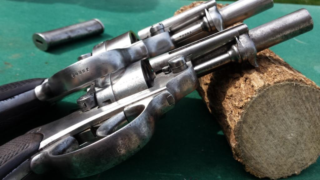 Revolvers modèles 1873