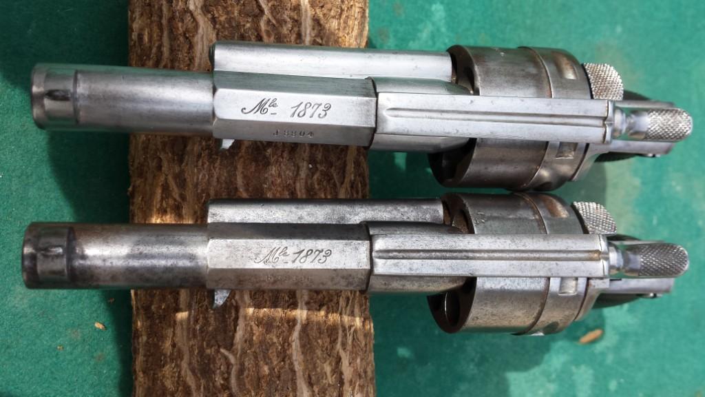 Comparaison des marquages modèles 1873
