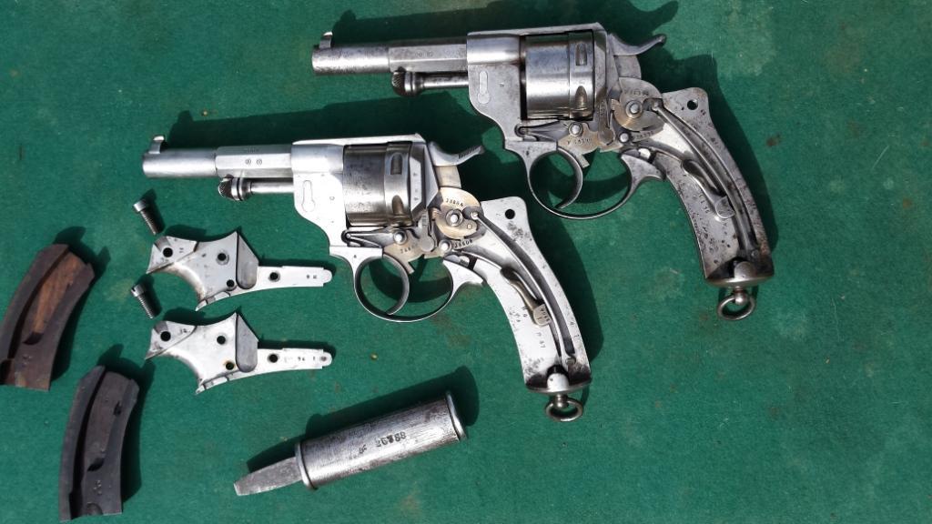Revolvers modèles 1873: mécanismes