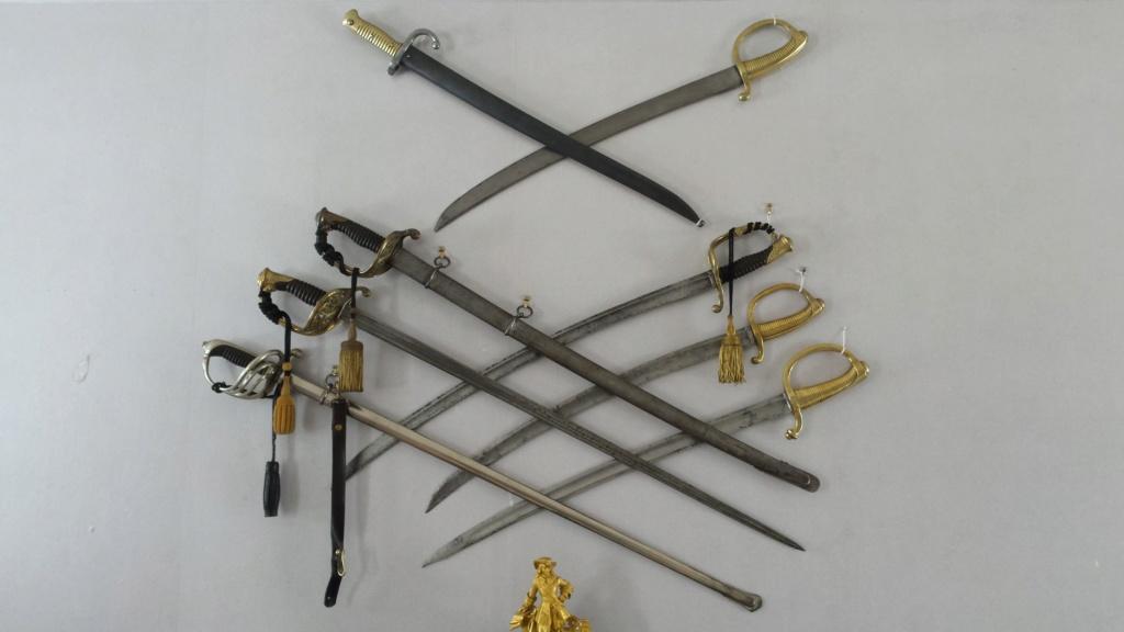 Sabres d'officier d'infanterie Français XIXe